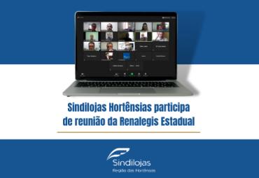 Sindilojas Hortênsias participa de reunião da Renalegis Estadual