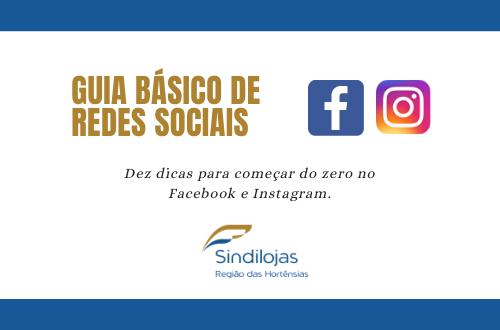 Banner Guia Básico de redes sociais